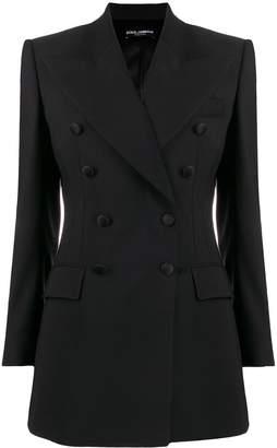 Dolce & Gabbana double-breasted longline blazer