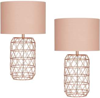 Amalfi by Rangoni Ezra Table lamp (Set of 2)