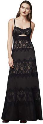 BCBGMAXAZRIA Alese Lace Gown