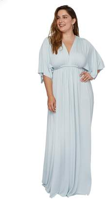 Long Caftan Dress - Cloud, Plus Size