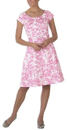 Isaac Mizrahi for Target® Toile-Print Dress - Pink Wink