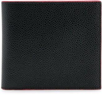 Thom Browne Rwb Edge Stain Billfold Wallet