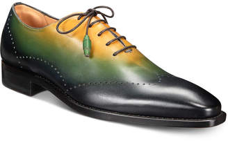 Mezlan Men Tri-Tone Wingtip Oxfords Men Shoes