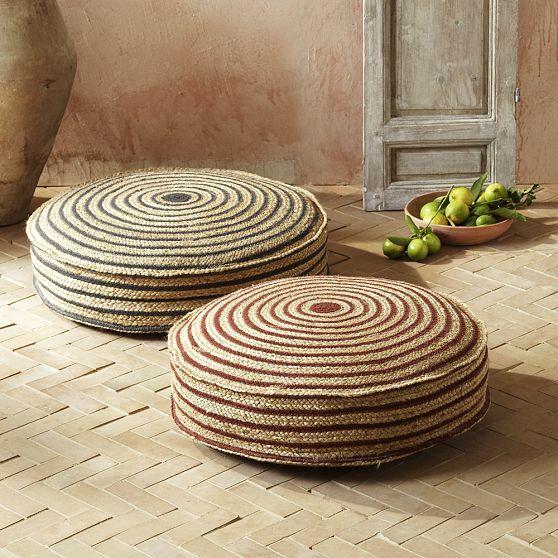 Stripe Rope Floor Cushion