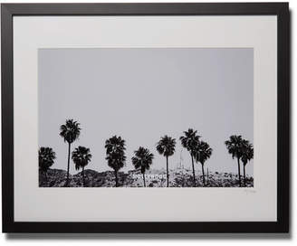 Sonic Editions Framed 2015 Stephen Albanese Los Angeles Print, 16 X 20