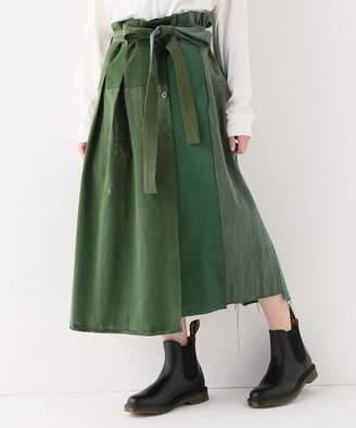 BONUM (ボナム) - BONUM ARTE POVERA USミリタリーシャツ REスカート