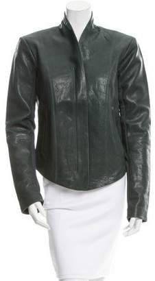 Veda Boss Classic Leather Jacket w/ Tags