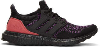adidas Black and Red CBC Harlem Caged UltraBOOST Sneakers