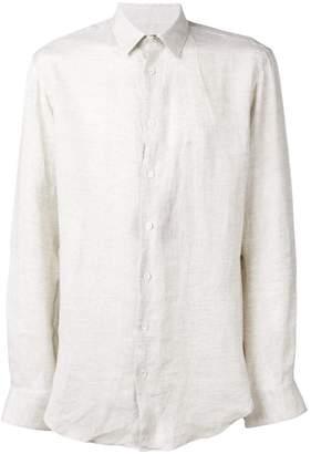 Giorgio Armani classic straight-fit shirt
