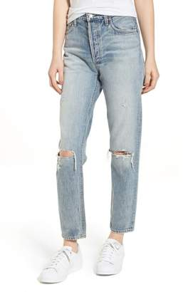A Gold E AGOLDE Jamie High Waist Ankle Jeans