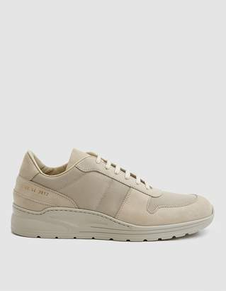 Common Projects New Track Sneaker in Carta