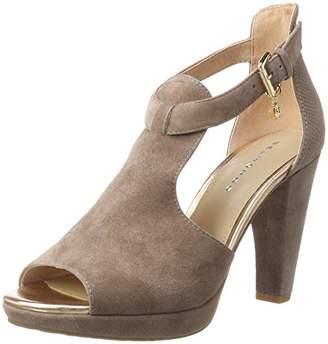 Belmondo Women's Pumps-Damen T-Brace Beige Size: