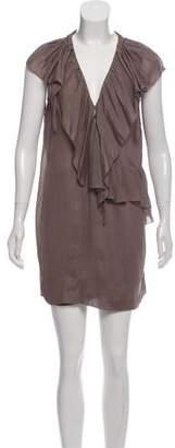 IRO Benelie Ruffle-Accented Dress