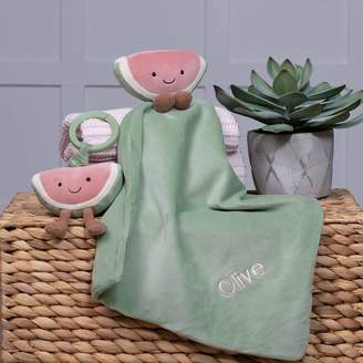 That's mine personalised embroidered gifts Personalised Amuseable Watermelon Comforter And Toy Set