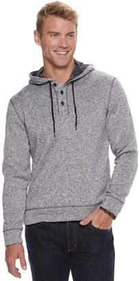 Sonoma Goods For Life Men's SONOMA Goods for Life Supersoft Sweater Fleece Henley Hoodie