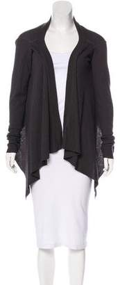 Rick Owens Open Front Knit Cardigan