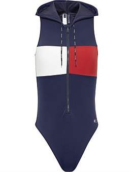 Tommy Hilfiger True Tommy One-Piece With Hood