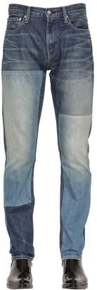 Calvin Klein Jeans Slim Fit Patchwork Denim Jeans