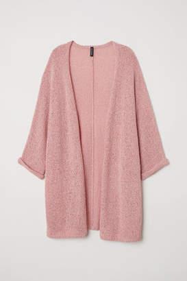 H&M Loose-knit Cardigan - Pink