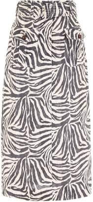Zimmermann Safari Print Skirt