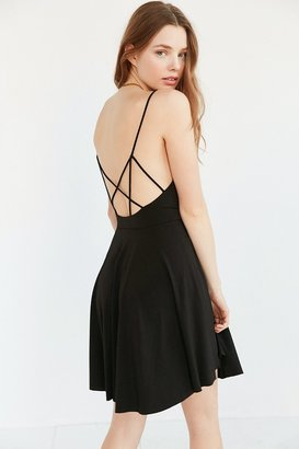 Kimchi Blue Valerina Strappy-Back Skater Dress $69 thestylecure.com