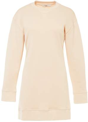 Tibi Open Back Sweatshirt Dress