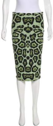 Givenchy Printed Knee-Length Skirt