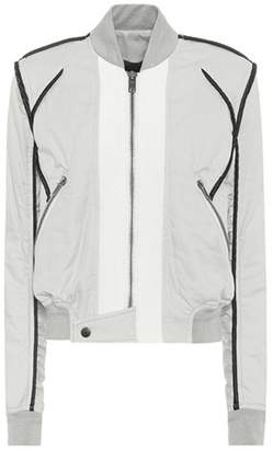 Haider Ackermann Cotton twill bomber jacket