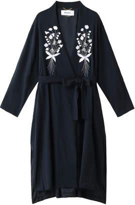Muveil (ミュベール) - ミュベール 花刺繍コート