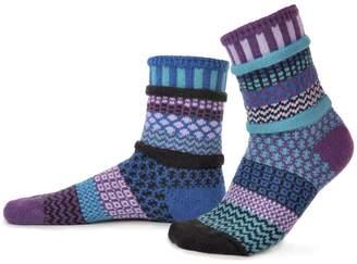 Solmate Socks Mismatched Socks Raspberry