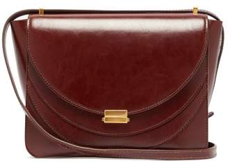 46df18209 Wandler Luna Mini Leather Cross Body Bag - Womens - Burgundy