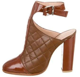 Thakoon Addition Quilted Leather Booties