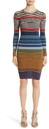 Missoni Stripe Space Dye Knit Dress