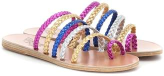 Ancient Greek Sandals Niki Braids leather sandals