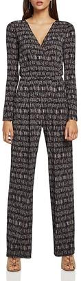 BCBGeneration Striped Long-Sleeve Jumpsuit $108 thestylecure.com