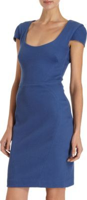 L'Agence Fitted Dress