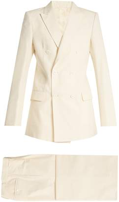 CONNOLLY Double-breasted cotton suit $1,618 thestylecure.com
