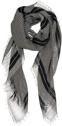 Christian Dior Black Cotton Scarves & pocket squares