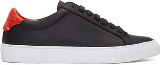 Givenchy Black Urban Knots Sneakers $495 thestylecure.com