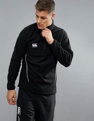 Canterbury of New Zealand Team Half Zip In Black E553363-989