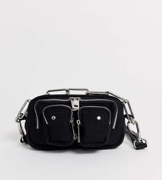 Helena Nunoo Crossbody Bag in Black Scuba