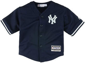 Majestic New York Yankees Blank Replica Cool Base Jersey, Toddler Boys (2T-4T)