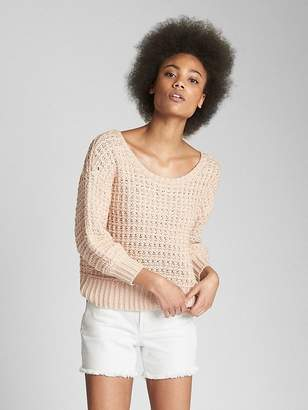 Gap Crochet Pullover Sweater