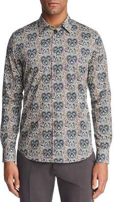 Paul Smith Liberty Print Floral Slim Fit Button-Down Shirt