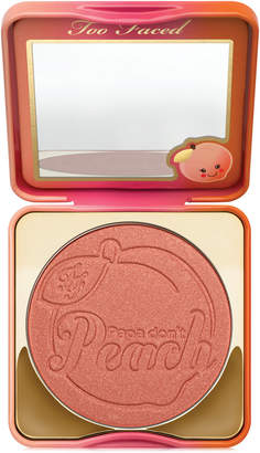 Too Faced Sweet Peach Papa Don't Peach Blush $30 thestylecure.com
