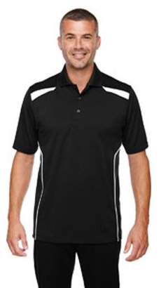 Ash City - Extreme Men's Eperformance Tempo Recycled Polyester Performance Textured Polo - BLACK 703 - 5XL 85112