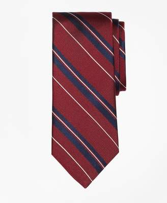 Brooks Brothers Bold Textured Split Stripe Tie