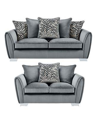 Fashion World Valentina 3 plus 2 Seater Sofa