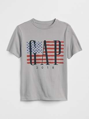 Gap Flag Logo T-Shirt