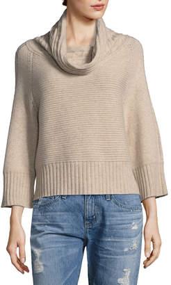 Raffi Cashmere Horizontal Cableknit Cashmere Sweater